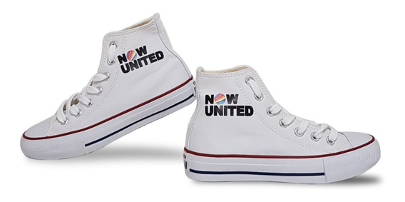 Tênis Now United All Converse Customizado Unissex