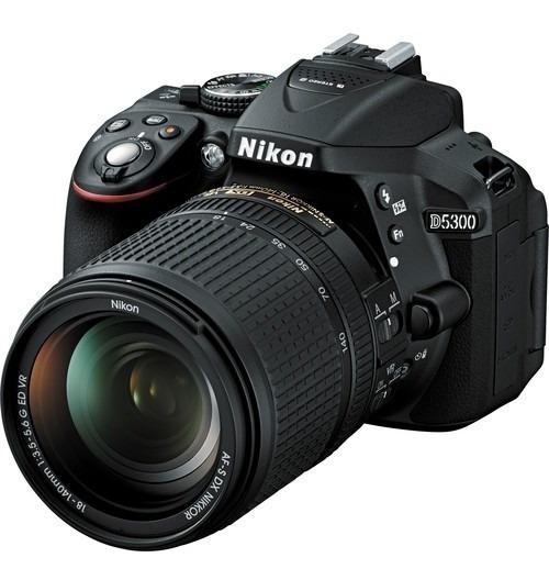 Câmera Nikon D5300 Com Lente Nikon 18-140mm F / 3.5-5.6g Ed Vr - Loja Platinum