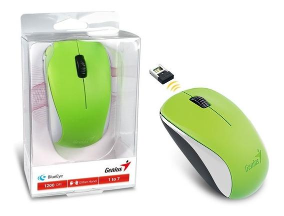 Mouse Wireless Genius 31030109121 Nx-7000 Blueeye Verde 2,4