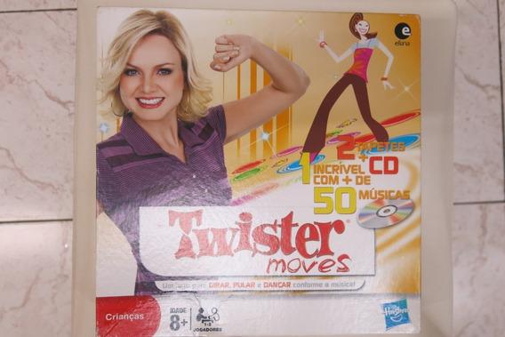 Jogo Twister Moves Com 2 Tapetes E Cd De Músicas