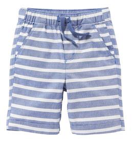 Short Niño Bebé Cintura Elástica Estampado 381144 Old Navy