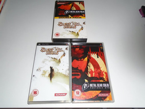 Double Pack Silent Hill Origins + Metal Gear Ops Sony Psp