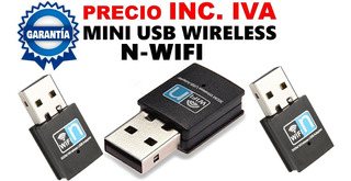 Adaptador Wireless Wifi Mini Usb 300 Mbps !!nuevo!!
