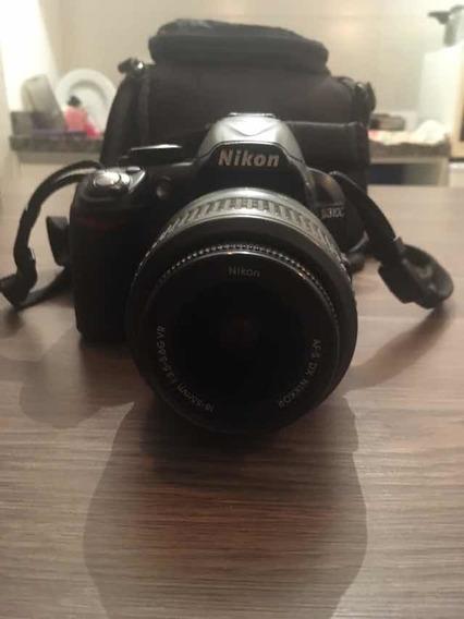 Câmera Digital Nikon D3100 + Lente Afs Nikkor 18-555