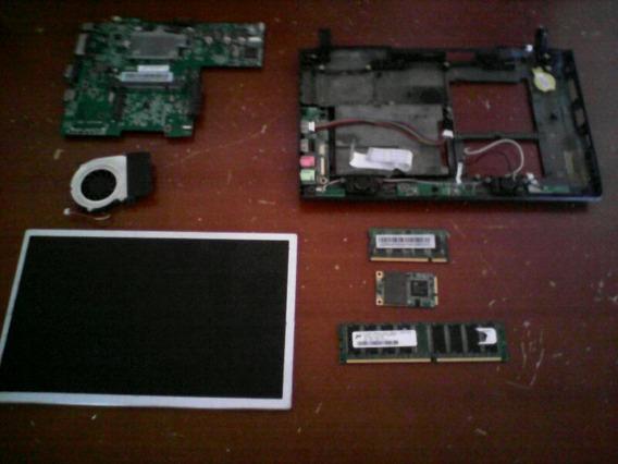 Mini Lapto Utech Ux101 Blk
