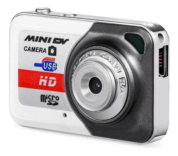 Mini Filmadora Dv Hd Camera Cinza