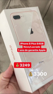 Celular iPhone 8 Plus 64gb