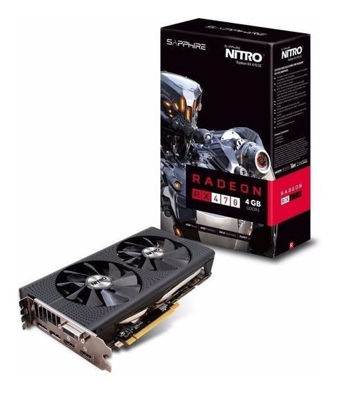 Rx 470 4gb Oc Nitro Gddr5 Dual Hdmi Dvi-d