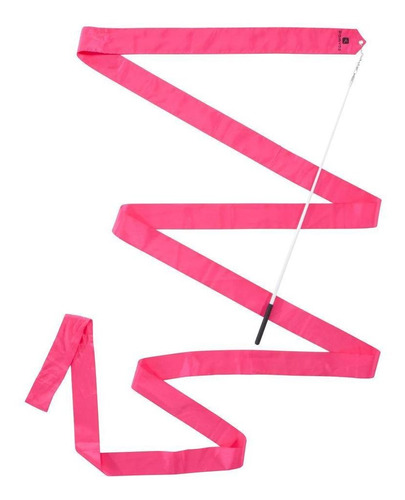 Fita De Ginástica Rítmica (gr) 4m Rosa - Cor Fluo-pink