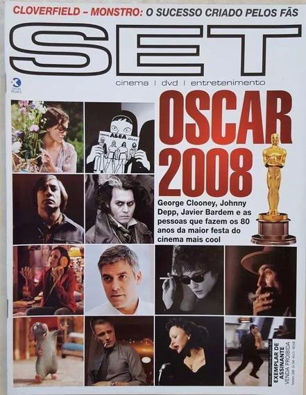 Revista Set 248 Oscar 2008 George Clonney Johnny Deep