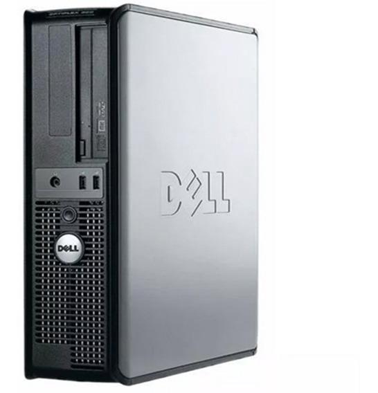 Computador Dell Optiplex Core 2 Duo 2gb Hd 250gb Dvd Wifi