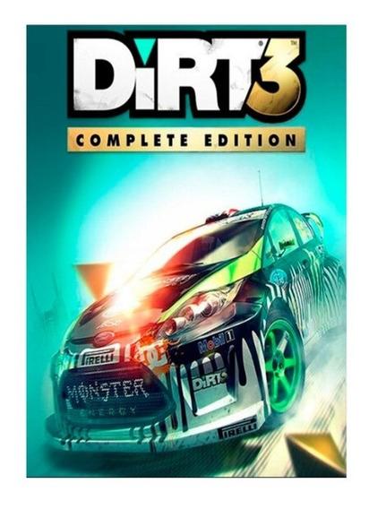 Dirt 3 Complete Edition Steam Key Global Envio Já