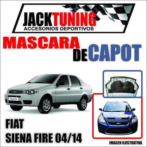 Mascara De Capot Fiat Siena Fire 04/14 En Ecocuero