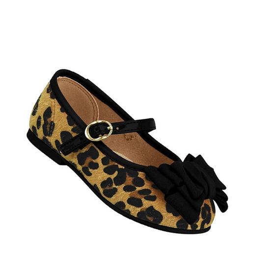 Sapato Boneca Estampa Onça Molekinha Sem Frete 010096