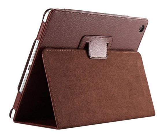 Castanho Suporte Tampa Magnética De Couro Para iPad 2/3/4