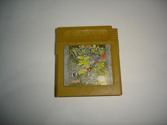 Pokemon Gold Original Gameboy Color Gbc C02