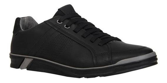 Zapatos Casuales Para Hombre Negro 24 Walks / 116685-03