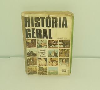 Livro História Geral Maria Januária Vilela Santos