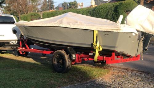 Lancha Regnicoli Fishing 475 Mercury 50hp  Con Opcionales