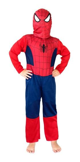 Disfraz Hombre Araña Spiderman Super Precio Original Newtoys