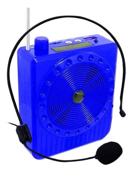 Caixa Amplificador Megafone 20w Palestra Evento Voz Professo