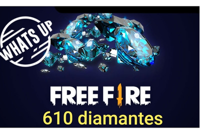 Gift Cards 610 Diamantes Free Fire