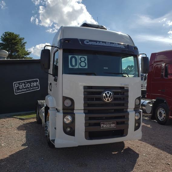 Caminhão Volkswagen Constellation 19.320 4x2 Ano 08 Com Ar