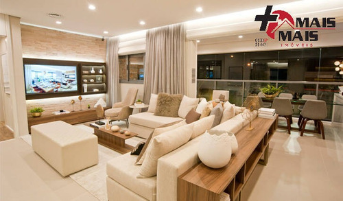 Imagem 1 de 7 de Sartoria, Apartamento No Taquaral, Campinas, 125m² - Asartori12