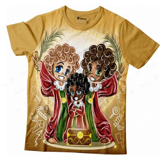Camiseta Full Cosme, Damião E Doum Ii_