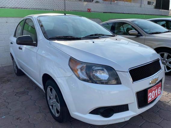Chevrolet Aveo Std Ls Blanco 2016, Hangar Galerias
