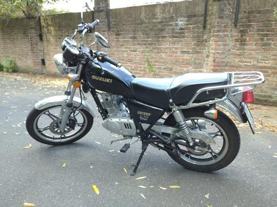 Suzuki Gn125-f Igual A 0km.