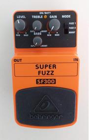 Pedal De Efeitos Super Fuzz Behringer Sf300 Guitarra E Baixo