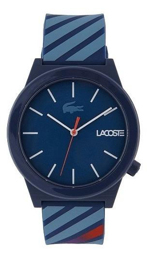 Relógio Lacoste Masculino Borracha Azul - 2010934