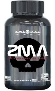 Zma 120 Caps - Blackskull Aumenta A Testosterona