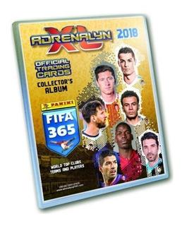 Album Porta Cards Binder Fifa 365 2018 Panini Adrenalyn Xl