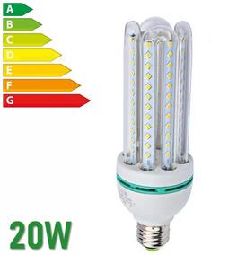 Kit 10 - Lâmpada Led Milho 20w Branco Frio Econômica E27