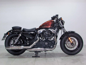 Harley Davidson Sportster Forty Eight 2014 Laranja