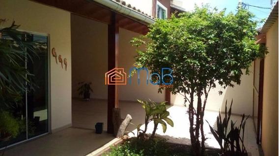 Espetacular Casa Duplex Com 03 Quartos Sendo 02 Suítes Na Riviera. - Ca023