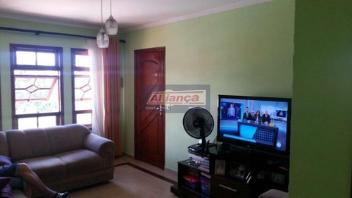 Sobrado Com 3 Dormitórios À Venda, 180 M² - Parque Continental I - Guarulhos/sp - Ai1584