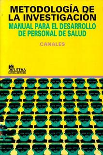 Metodologia De La Investigación Personal De Salud Medicina