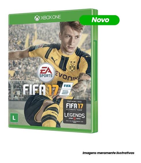 Game Xbox One Fifa 17 Mídia Física/ Novo/ Lacrado
