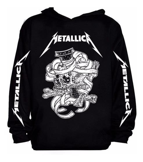 Blusa Metallica 011. Blusa Moletom Banda Metallica Thrash
