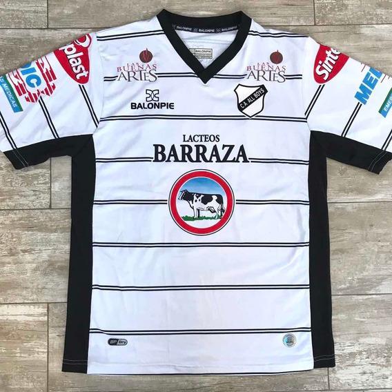 Camiseta All Boys 2012 Balonpie De Utileria. Usada En Juego