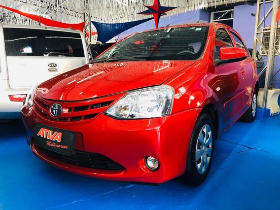 Toyota Etios X 1.3 2014 Completo