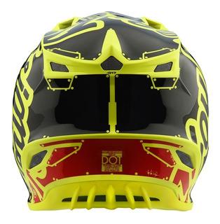 Casco Para Moto Troy Lee Design Se4 Polycrylite Yellow