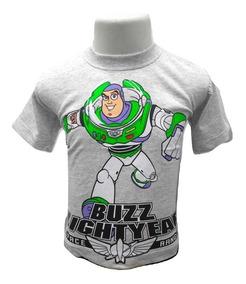 Camiseta Camisa Infantil Toy Story Buzz Lightyear Promoção