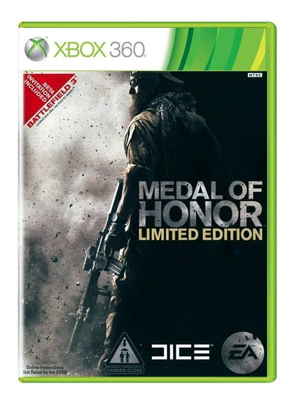 Medal Of Honor Limited Edition Xbox 360 Midia Fisica