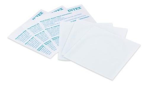 6 Parche Inflables Reparación Albercas Intex Bestway