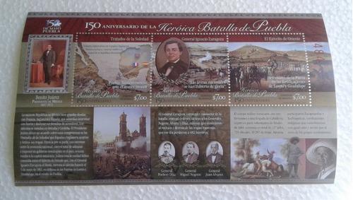 Imagen 1 de 1 de México 2012 : 150 Aniv Heróica Batalla De Puebla , Zaragoza