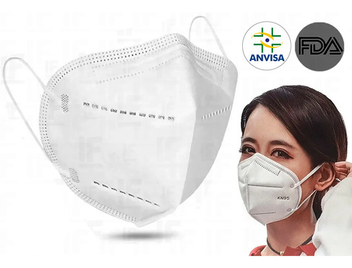 Mascara Kn95 Original Pff2 Branca Kn95 Pronta Entrega